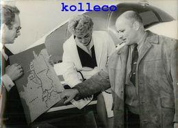 AERODROME DE TOUSSUS-LE-NOBLE L'HOMME-GRENOUILLE LOUIS LOURMAIS TENTE 1000 KM A LA NAGE PLONGEUR MARINE SPORT RECORD - Toussus Le Noble