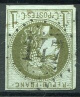 !!! 1 C BORDEAUX OBLITERE GC 147 ARENGOSSE (LANDES) - Marcophily (detached Stamps)