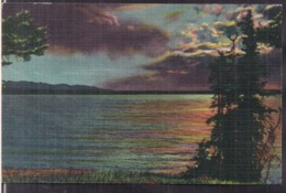 C. Postale - Yellowstone Lake - Circa 1940 - Non Circulee - A1RR2 - Yellowstone