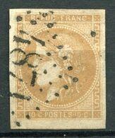 !!! 10 C BORDEAUX OBLITERE GC 4871 TREMENTINE (MAINE ET LOIRE) - Marcophily (detached Stamps)