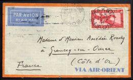 Lettre De Pakse (Laos) Pour La France - 23 Mai 1934 - Brieven En Documenten