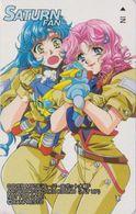 Télécarte JAPON / 110-016 - MANGA - SEGA SATURN FAN 1 - Jeu Video Game - ANIME JAPAN Phonecard - NFS 12136 - BD