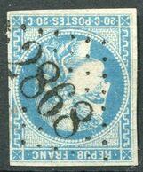 !!! 20 C BORDEAUX OBLITERE GC 2868 PLABENNEC (FINISTERE) - Marcophily (detached Stamps)