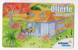 ANTILLES FRANCAISE REF MV CARDS ANTF OT80 PREPAYEE OUTREMER TELECOM PEINTRE 1 Date 2001 - Antilles (Françaises)
