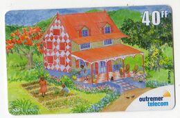 ANTILLES FRANCAISE REF MV CARDS ANTF OT81 PREPAYEE OUTREMER TELECOM PEINTRE 2 Date 2001 - Antilles (Françaises)