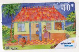ANTILLES FRANCAISE REF MV CARDS ANTF OT82 PREPAYEE OUTREMER TELECOM PEINTRE 3 Date 2001 - Antilles (Françaises)