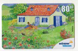 ANTILLES FRANCAISE REF MV CARDS ANTF OT83 PREPAYEE OUTREMER TELECOM PEINTRE 4 Date 2001 - Antilles (Françaises)