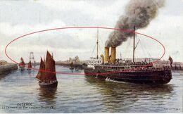 Kleurkaart - Serie J. Salmon. Oostende - Ostende - Ostend - Oostende