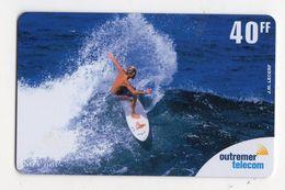 ANTILLES FRANCAISE REF MV CARDS ANTF OT73 PREPAYEE OUTREMER TELECOM SURF 40FF - Antilles (Françaises)