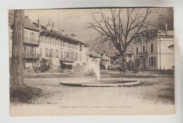 CPA MOUTIERS (Savoie) - Square De La Liberté - Moutiers