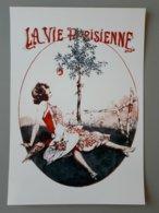 Affiche : La Vie Parisienne Un Souvenir Du Paradis,le Fruit Défendu & - Affiches
