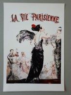 Affiche : La Vie Parisienne, Le Rouge Est Mis & - Affiches