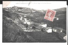 Saint Germain Laval. Vue De Baffie Et Du Pont Romain. De Louise Delpech à Mme Claudine Buissonnet Ponts De Rôgne. 1915. - Saint Germain Laval