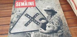 SEMAINE 44 /NORMANDIE REFUGIES/NAIN PIERRAL/BATAILLE  PONT HEBERT St GERMAIN D ELLE/ALENCON TINCHEBRAY /CECILE SOREL - 1900 - 1949