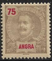 Angra – 1898 D. Carlos 75 Réis - Angra