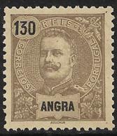 Angra – 1898 King Carlos 130 Réis - Angra
