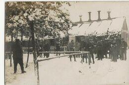 KONIGSBRUCK Camp De Prisonniers - KRIEGSGEFANGENENSENDUNG - Correspondances  -  Hiver  - Clôture - Weltkrieg 1914-18