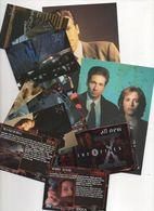 11 Cartes OFFICIELLES 10.5 X 15 Cm ET 9 X 6.5 Cm De La Série X Files David Duchovny Gillian Anderson - Werbetrailer