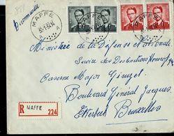 Doc. De MAFFLE - A A - Du 30/01/54 En Rec.  (E ) - Postmark Collection