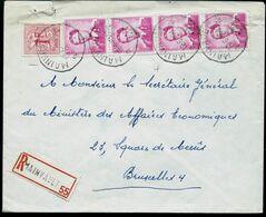 Doc. De MAINVAULT  - A A - Du 12/06/69 En Rec.  (E ) - Postmark Collection