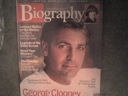 Biography George Clooney Rachel Weisz Kennedy Jennifer Connelly John Walsh Bette Davis Amelia Earhart - Arte