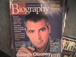 Biography 2000 George Clooney Renée Zellweger Catherine Zeta-Jones Estée Lauder Faulkner - Arte