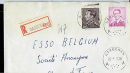 Doc. De MARBEHAN - A A - Du 25/04/66 En Rec.  (E ) - Postmark Collection
