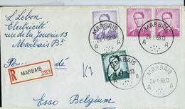 Doc. De MARBAIS - A A - Du 24/01/68 En Rec.  (E ) - Postmark Collection