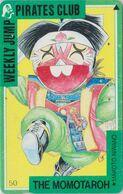 TC Ancienne JAPON / 110-011 - MANGA - THE MOMOTAROH - WEEKLY JUMP PIRATES CLUB - ANIME JAPAN Phonecard 12149 - BD