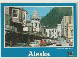 JUNEAU ALASKA CITY CENTER F/G VIAGGIATA 1985 - Juneau