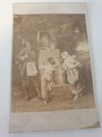 Cdv Ancienne Années 1800 La Lanterne Magique.  Goupil.  Paris - Oud (voor 1900)