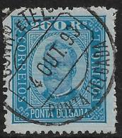 Ponta Delgada – 1892 King Carlos 200 Réis - Ponta Delgada