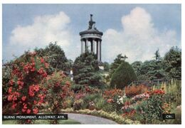 (F 7) Older - Great Britain / UK - Scotland - Ayr Burns Monument - Ayrshire