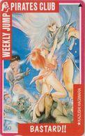 Télécarte JAPON / 110-011 - MANGA - WEEKLY JUMP PIRATES CLUB - BASTARD - ANIME JAPAN Phonecard - 12160 - BD