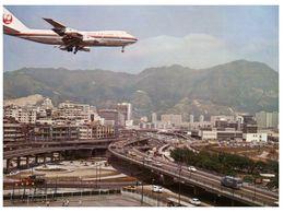 (F 7) Hong Kong (China) Landing At Kai Tak Airport - Aerodromi