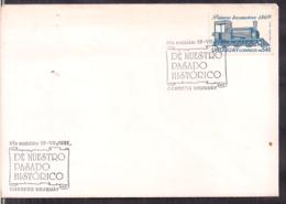 Uruguay - 1991 - FDC - Première Locomotive D'Uruguay - A1RR2 - Treni