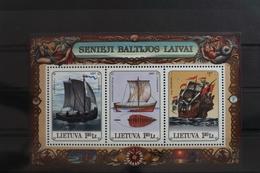 Litauen Block 11 Mit 640-642 ** Postfrisch #SX638 - Litauen