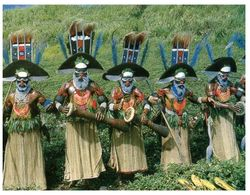 (F 10) Papua New Guinea (music) - Papua-Neuguinea