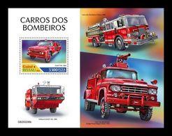 Guinea-Bissau 2020 Mih. 11223 (Bl.1927) Fire Engines MNH ** - Guinea-Bissau