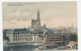 Strassburg I. E. Blick Von Der Germania - Strasbourg