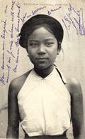 465- TONKIN -Haïduong - Jeune Fille - Ed. Dieulefils - Viêt-Nam