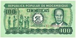 Mozambique - 100 Meticais - 16.06.1980 - P 126.a - Serie AC - Mozambique
