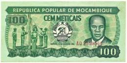 Mozambique - 100 Meticais - 16.06.1983 - P 126.b - Serie AQ - Mozambique