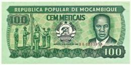 Mozambique - 100 Meticais - 16.06.1986 - P 130.b - Serie BA - Mozambique