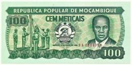 Mozambique - 100 Meticais - 16.06.1986 - P 130.b - Unc. - Serie BA - Mozambique