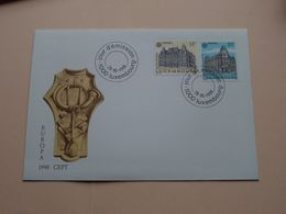 EUROPA CEPT 1990 ( Enveloppe ( FDC 299 N° 011091 ) Omslag > Voir Photo Svp ) Luxembourg ! - FDC