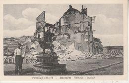 54 - BACCARAT - Weltkrieg - Rathaus - Mairie (carte Allemande) - Baccarat