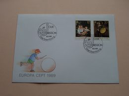 EUROPA CEPT 1989 ( Enveloppe ( FDC 293 N° 014878 ) Omslag > Voir Photo Svp ) Luxembourg ! - FDC