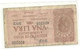 1 LIRE    20  MAGGIO 1935   N.874 - [ 1] …-1946 : Regno