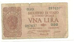 1 LIRE    20  MAGGIO 1935   N.874     099  097637 - [ 1] …-1946 : Regno